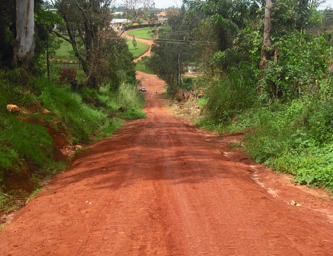 Die rote Erde Ugandas
